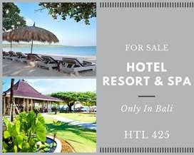 HTL 425 Hotel, Resort dan Spa for sale di Bali