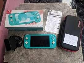Nintendo Switch Lite Turquoise Fullset 01