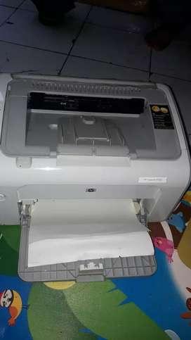 Printer HP Laserjet P1102 Mulus Normal