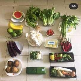 Supplier Sayur dan Buah atau Sembako