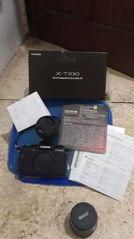 KAMERA Fujifilm XT100 X-T100Kit 15-45mmKameraMirrorless