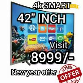BRAND NEW SMART 43 INCH LED TV FULL HD  4k smart WITH 2 YEAR WARRANTY