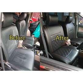 Sarung jok-karpet dasar mobil pasang ke rumah se-jabodetabek 012