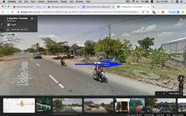 Tanah strategis pinggir jalan raya provinsi Pwd-Blora