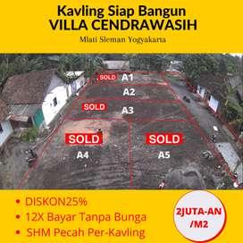 SHM Pecah Unit: Dijual Tanah Mati Sleman Barat Jl. Raya Magelang