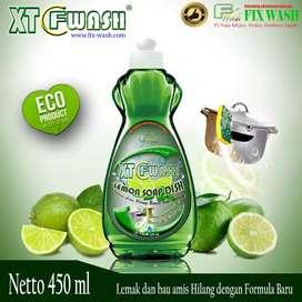 Sabun cuci piring Lemon Soap Dish 450 ml fliptop by Fix Wash