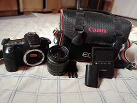 Canon 60 with 18 55mm