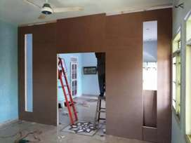 Office sound proof wooden partitions