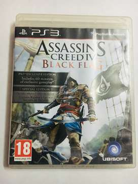 Assassin's Creed IV. Black Flag. CD for Playstation.3 .. Used once.