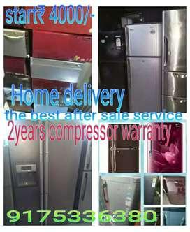 2years warrantys used fridges