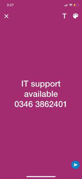 IT Support available