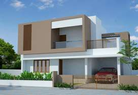 3 bedroom Villas of 1780 sqft area with 4.3 Cents of Land.