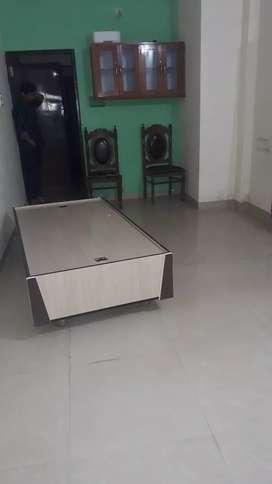 1 hall 1kitchen with semi furnished