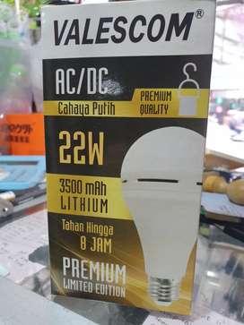 Lampu Bohlam/ Lampu Emergency 22 Watt / Lampu Darurat VALESCOM - 22W