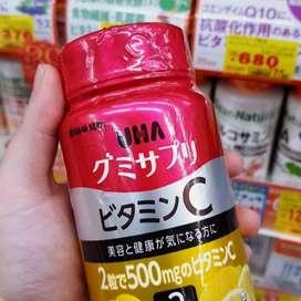 UHA Vitamim C utk mencerahkan kulit