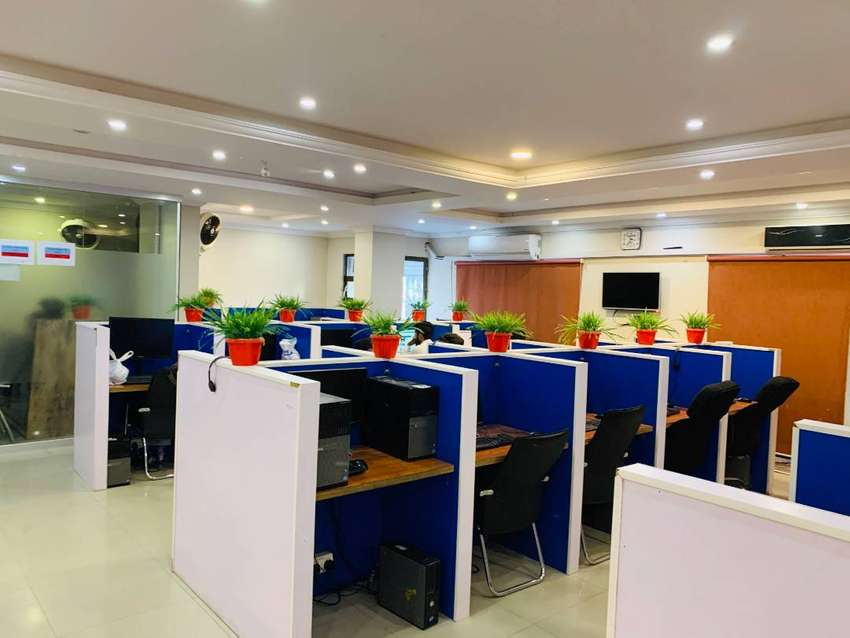 Furnished ready for work Call Centre / Software house for sale / lease 0