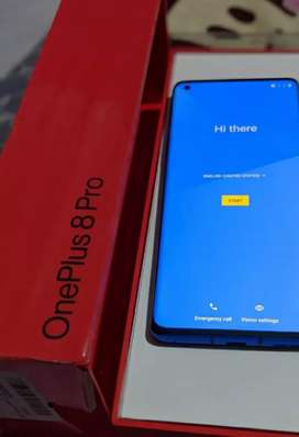 One plus 8 pro 256 gb rom 12 gb ram