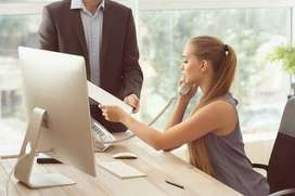 URGENT HIRING IN FEMALE CANDIDATES FOR BACK OFFICE PROFILE