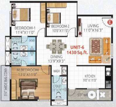 Ready to Move-in Flats for sale in J P Nagar Bangalore 0