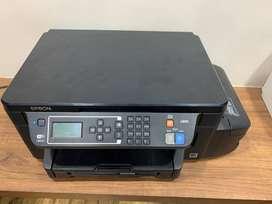 EPSON L 605 INK TANK PRINTER - 4 YEARS OLD