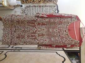 Pre used Barat Bridal Dress