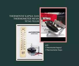 Thermostat kapsul dan Thermometer Mesin tetas telur