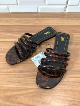 Sandal zara leopard