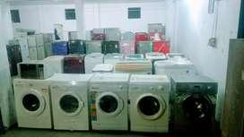 Used washing machine, fridges, LED TV, AC and oven