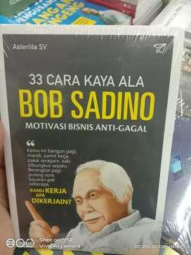 Buku original 33 cara kaya ala bob sadino