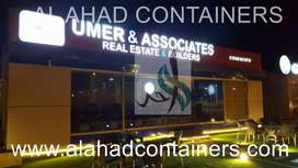 Estate Office Containers - Bahria Town