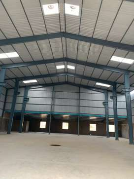 Rent for Industrial Shed ,Front of Chakan Mahindra Co.