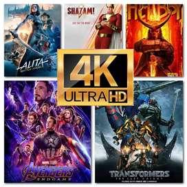 Paket movie 4K terupdate