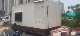 Office container ready to move anywhere with DAIKIN 1.5 TON Ac