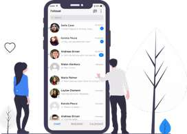 Requirement of 2 boys for chat on social media