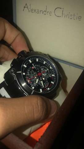 Expedition E 6793 MC BEPBA Chronograph Man Dial Black Stainless Steel