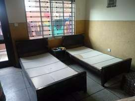2 Single bed without matters