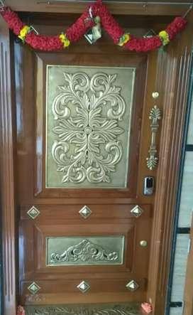 Brass Interior door