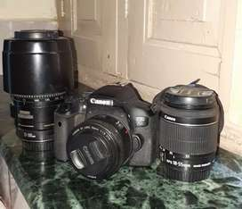 Sale my canon 750d and 3lens
