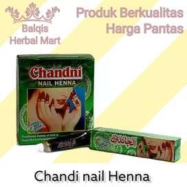 Pacar Kuku Chandni Nail Henna Natural Coklat