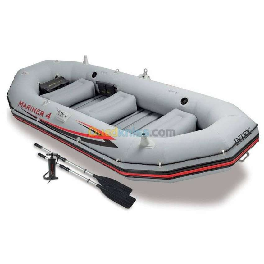 """INTEX Boat Mariner 4 For 4 Persons ( 129"""" X 57"""" X 19"""" ) 0"""