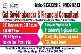 GST & Income tax return