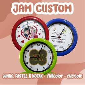 JAM CUSTOM/ JAM FOTO/ JAM DINDING CUSTOM40.000