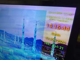 Ready Jam Digital Masjid TV led