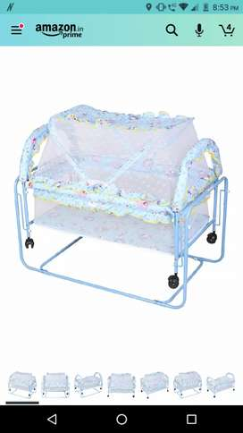 Baby cradle at best price in good condition