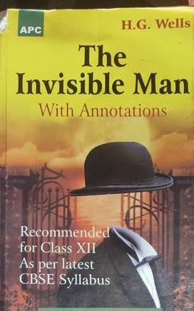 Novel - The Invisible Man ( H.G. Wells)