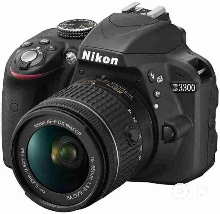 NIKON D3300 DSLR Camera with 18 - 55 mm lens