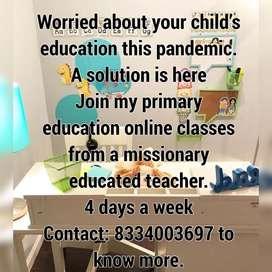 Primary school and Humanties Online Coaching
