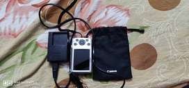 Silver Canon Point-and-shoot Camera With Battery Charger only 1 yr old