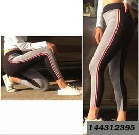 Women's Jeggings Pattern Striped  Solid