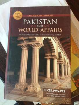 Pakistan & World Affairs (CSS)